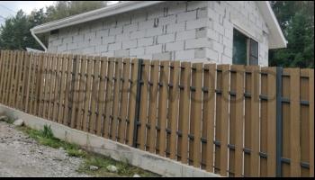 Качественный и долговечный забор