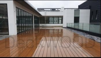 Обустройство крыши террасной доской DeckWOOD Extra