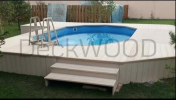 ДПК для отделки бассейна
